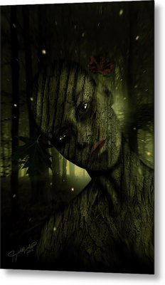 Wood You Metal Print by Jeremy Martinson