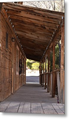Wooden Walk Metal Print