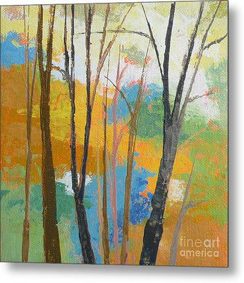 Woodland #3 Metal Print by Melody Cleary