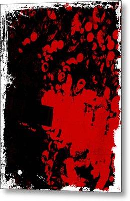 Woof Woof Metal Print by Lynn Thomson