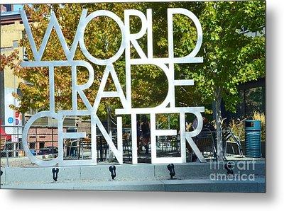 World Trade Center Metal Print by Kathleen Struckle