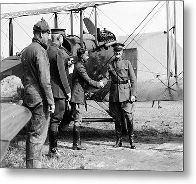 World War I, Captain Strus Second Metal Print by Everett