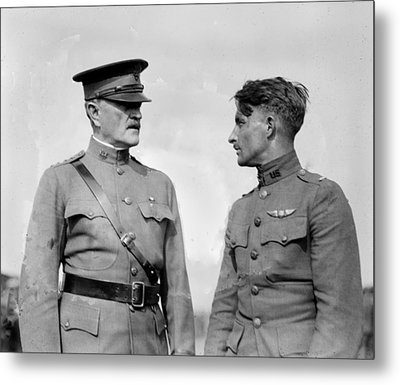 World War I, General John J. Pershing Metal Print by Everett