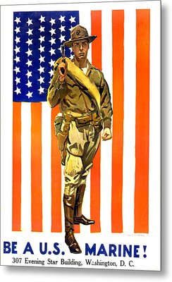 World War I, Recruitment Poster Metal Print