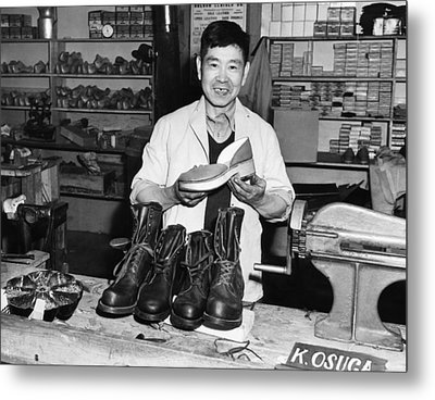 World War II, Mitsutaro Miyahara Metal Print by Everett