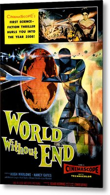 World Without End, Lisa Montell Top Metal Print