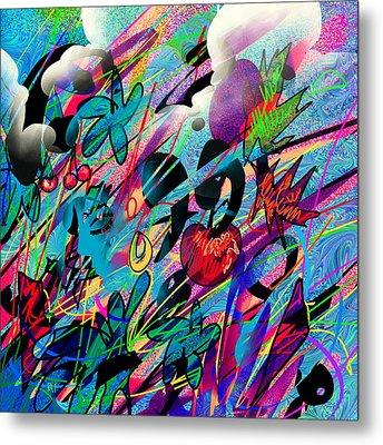 Wounded Fruit Metal Print by Rachel Christine Nowicki