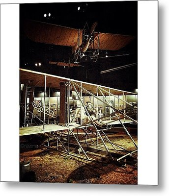 Wright 1909 Military Flyer Metal Print by Natasha Marco