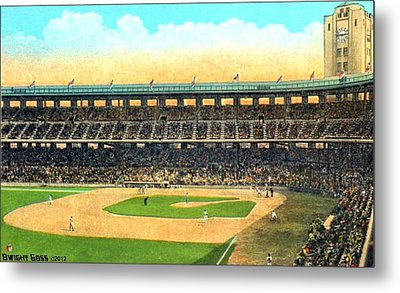 Wrigley Field In Los Angeles Ca In 1937 Metal Print by Dwight Goss