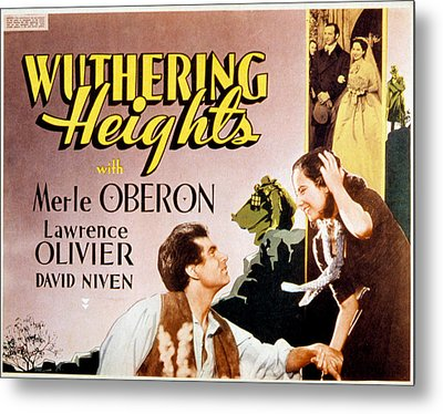 Wuthering Heights, Laurence Olivier Metal Print by Everett