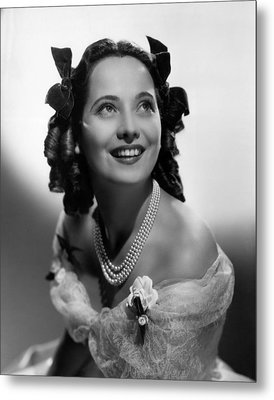 Wuthering Heights, Merle Oberon, 1939 Metal Print by Everett