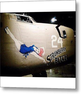 Ww2 Consolidated B-24d Liberator Metal Print by Natasha Marco