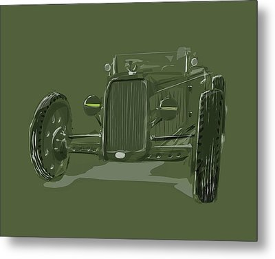 Ww2 Rod Metal Print