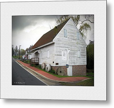 Wye Mill - Street View Metal Print by Brian Wallace