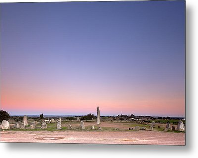 Xarez Cromlech Uring The Sunset Metal Print by Andre Goncalves