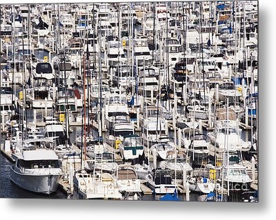 Yacht Marina Metal Print by Jeremy Woodhouse