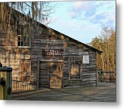 Y'all Come Back Metal Print by Sandra Anderson