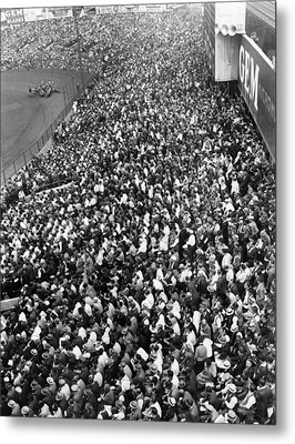 Yankee Stadium Bleachers, New York Metal Print by Everett