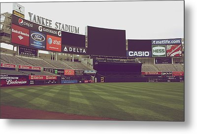 Yankee Stadium Metal Print by Michael Albright