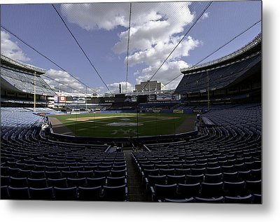 Metal Print featuring the photograph Yankee Stadium  by Paul Plaine