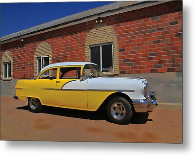 Yellow Beast Metal Print by Joel Witmeyer