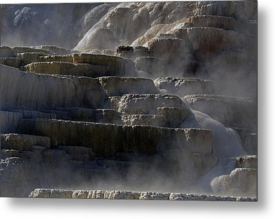 Metal Print featuring the photograph Yellowstone Texture by J L Woody Wooden
