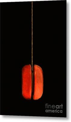 Yo-yo - Painterly Metal Print by Wingsdomain Art and Photography