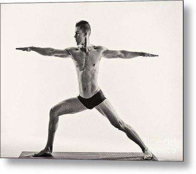 Yoga II Metal Print
