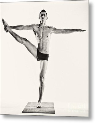 Yoga Iv Metal Print