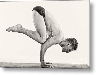 Yoga V Metal Print
