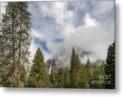 Yosemite Falls Metal Print by Sharon Seaward