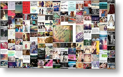 Metal Print featuring the photograph You Are Beautiful by Holley Jacobs