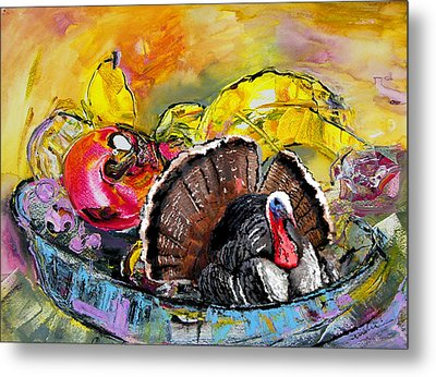 You Are My Dish Of The Day Metal Print by Miki De Goodaboom