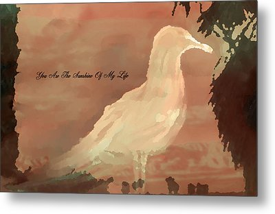 You Are The Sunshine Of My Life Metal Print by Sherri's Of Palm Springs