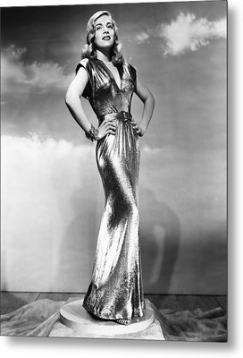 You Came Along, Lizabeth Scott, 1945 Metal Print by Everett