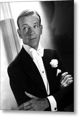 You Were Never Lovelier, Fred Astaire Metal Print by Everett