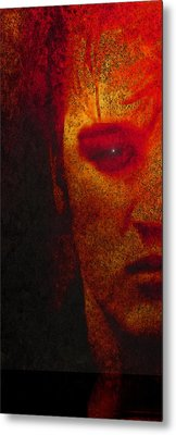 Young Elvis Metal Print by Susan  Solak