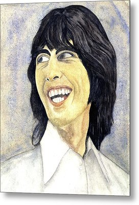Young George Metal Print by Michael Rowley