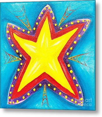 Your A Star Metal Print by Melle Varoy