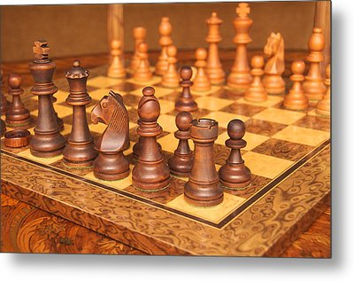 Your Move Metal Print by Graham Hawcroft pixsellpix