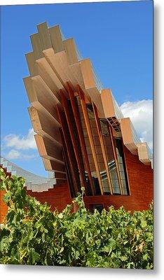 Ysios Winery Spain Metal Print by John Stuart Webbstock