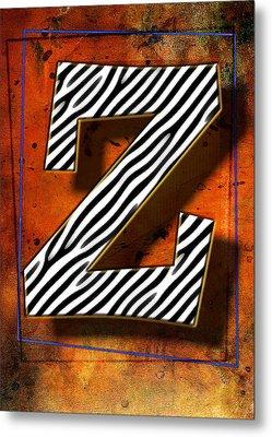 Z Metal Print by Mauro Celotti