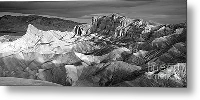 Zabriskie Point Panorama Metal Print by Jim Chamberlain