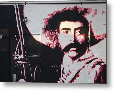 Zapata Metal Print by Dustin Spagnola