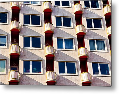 Metal Print featuring the photograph Zodiac Apartments by Justin Albrecht