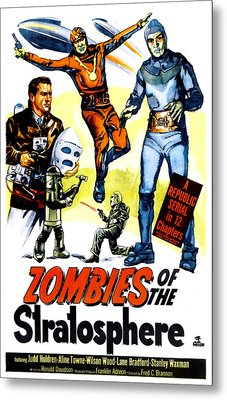 Zombies Of The Stratosphere, 1952 Metal Print by Everett