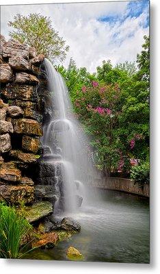 Zoo Waterfall Metal Print