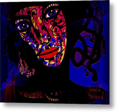 Zora Metal Print by Natalie Holland
