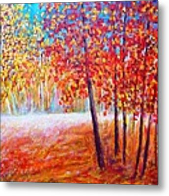 Autumn Metal Print by Cristina Stefan