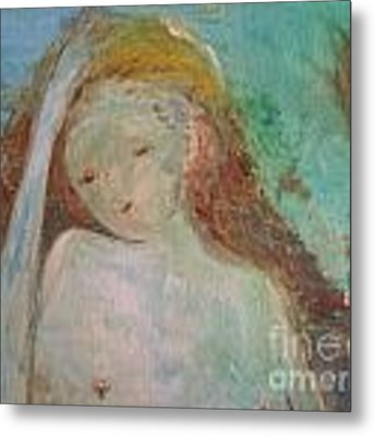 Woman Of Sorrows Metal Print by Laurie Lundquist